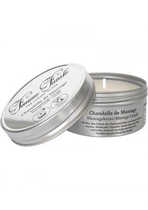 Femme Fatale Chandelle De Massage Candle Vanilla 4.2 Ounce