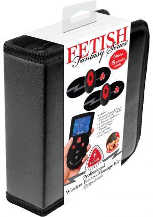 Fetish Fantasy Professional Wireless Electro Massage Kit