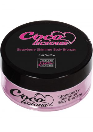 Cocolicious Strawberry Shimmer Body Bronzer .5 Ounce – Boxed