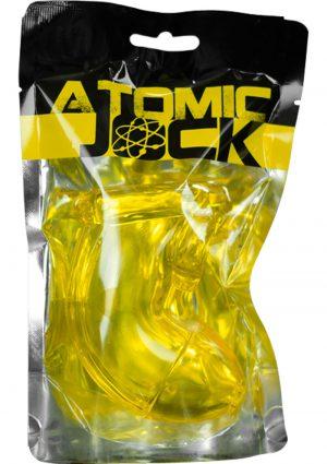 Atomic Jock Cock Lock Chastity TPR Yellow
