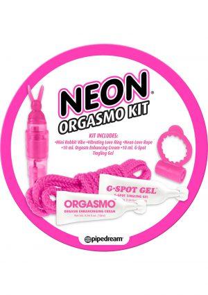 Neon Orgasmo Kit Pink