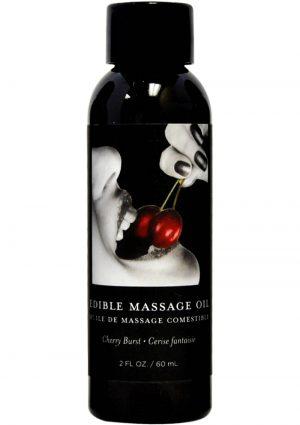 Edible Massage Oil Cherry 2 Ounce