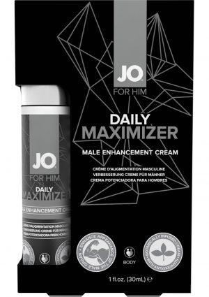 Jo Daily Maximizer Male Enhancement Cream 1 Oz