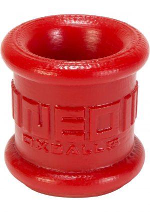 Oxballs Neo-Stretch Silicone Tall Ball Stretcher Red