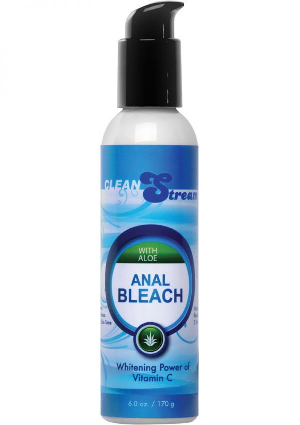 Clean Stream Aloe Anal Bleach With Vitamin C 6 Ounce