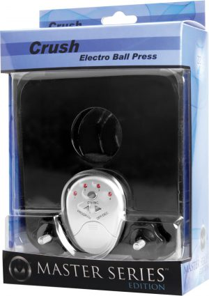 Zeus Master Series Crush Electro Ball Press Black