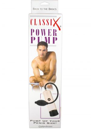 Classix Power Pump 7.5 Inch Clear