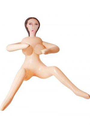 Inflatable Love Doll Jackie Waterproof Flesh 31.5 Inch Tall