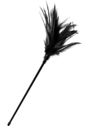 Greygasms Le` Plume Feather Tickler Black 17 Inch