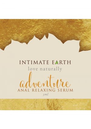 Intimate Earth Adventure Anal Relaxing Serum 3 Milliliter Foil Pack