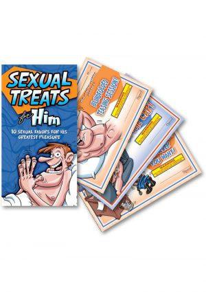 Sexual Treats For Him Vouchers 10 Each Per Pad