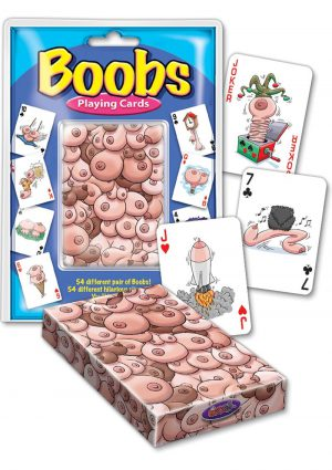 Boobs Playing Cards