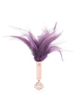 Fifty Shades Freed Cherished Collection Feather Tickler Purple With Gold Color Handle
