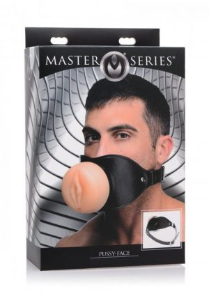 Master Series Pussy Face Pussy Boy Mouth Gag Flesh