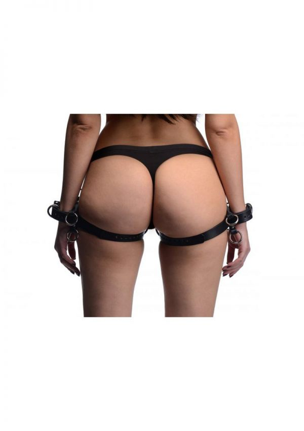 Strict Frog Tie Restraints Black