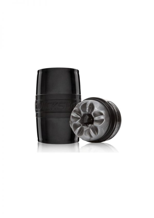 Fleshlight Quickshot Boost Dual End Stroker Silver 4.4 Inch