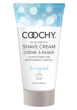 Coochy Oh So Smooth Shave Cream Be Original 3.4 Ounce