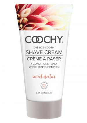 Coochy Oh So Smooth Shave Cream Sweet Nectar 3.4 Ounce
