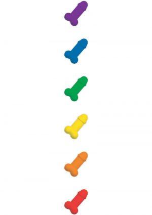 Rainbow Peckermints Breath Mints .8 Ounce Tin