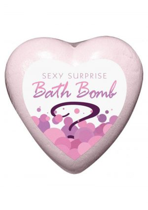 Sexy Surprise Bath Bomb Strawberry Champagne Scented