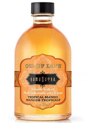 Oil Of Love Kissable Body Oil Tropical Mango .75 Ounce