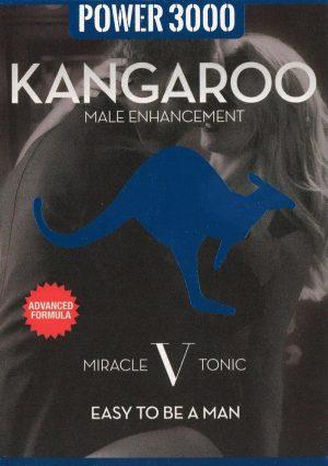 Kangaroo Power 3000 Miracle V Tonic Male Enhancement Pill 2 Each Per 6 Pack