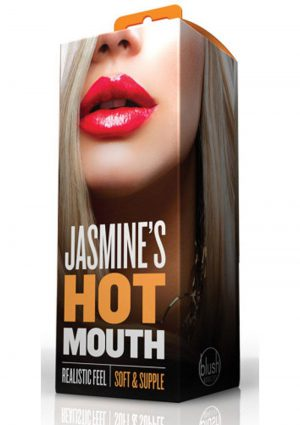 X5 Men Jasmine`s Hot Mouth  Realistic Stroker Flesh 5 Inch