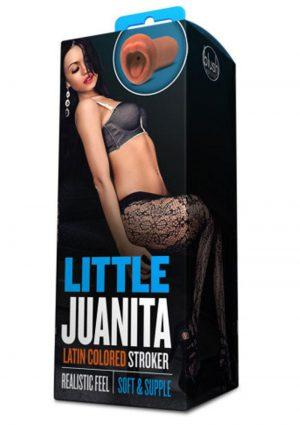 X5 Men Little Juanita Realistic Mouth Stroker Latin 5 Inch