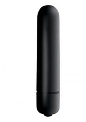 Intense Vibrating Bullet Waterproof Black 3.25 Inch