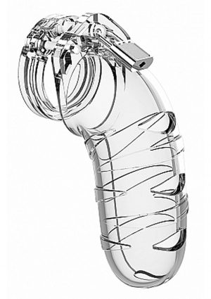 Man Cage By Shots Chastity 05 Clear 5.5 Inch