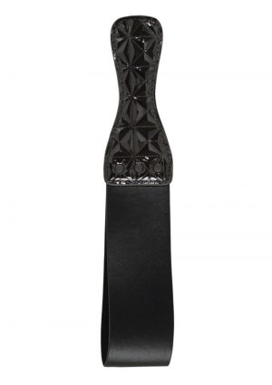 Sinful Vinyl Looped Paddle Black 13.4 Inch