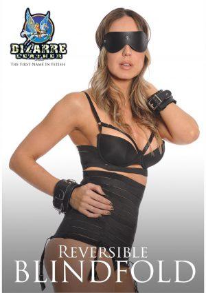 Bizarre Leather Reversible Blindfold
