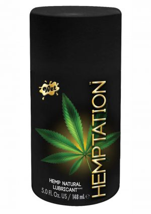 Hemptation All Natural Lubricant 5 Ounce