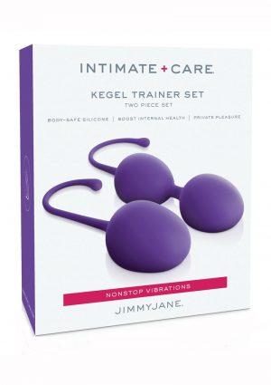 Jimmy Jane Intimate Care Kegel Set Purpl