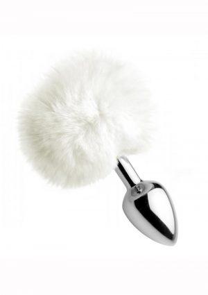 Tailz Fluffy Bunny Tail Anal Plug White