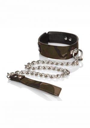 Colt Collar And Leash Adjustable Camo 32 Inch Leash