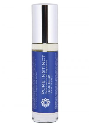 Pure Instinct Pheromone Infused Fragrance Oil True Blue Roll-On 0.34 Ounces