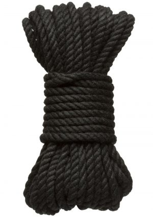 Kink Hogtied Bind And Tie 6mm 30` Black