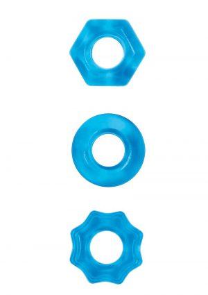 Renegade Chubbies Blue 3 Rings Per Pack