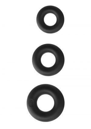 Renegade Super Soft Power Rings Kit Silicone Black