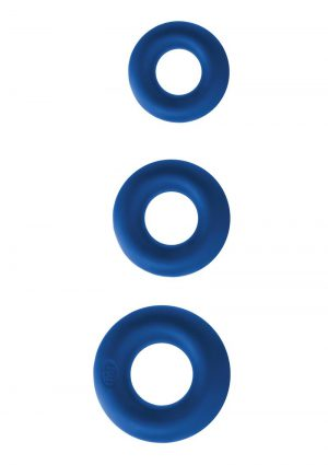 Renegade Super Soft Power Rings Kit Silicone Blue