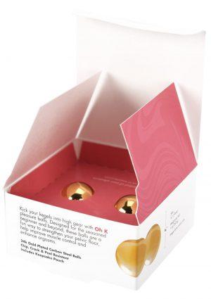 Cgc Pleasure Balls 24k Gold Plated Set