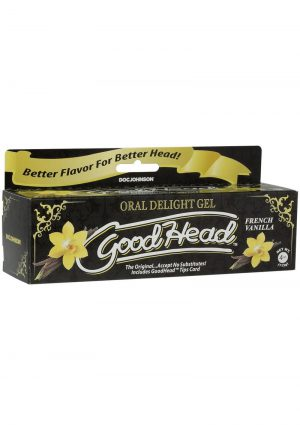 GoodHead Oral Delight Gel French Vanilla 4 Ounce