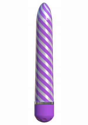 Sweet Swirl Vibrator Purple