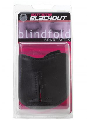 Blackout Blindfold Black
