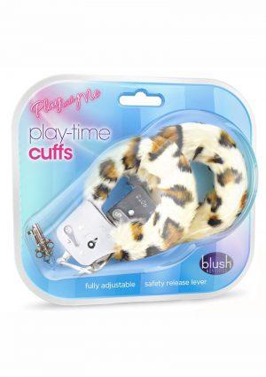 Pwm Playtime Cuffs Leopard