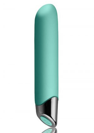 Chaiamo Teal Vibrator Multi Function Waterproof