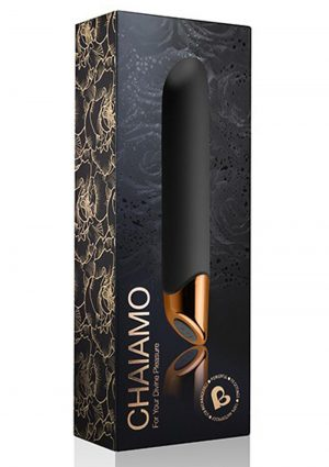 Chaiamo Black Vibrator Multifunction Waterproof