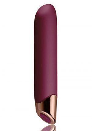 Chaiamo Burgundy Vibrator Waterproof Multi Function