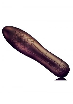 Zeppelina Bronze Vibrator Textured Multi Function Waterproof